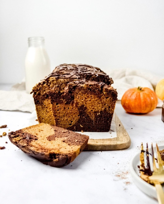 Pumpkin and Chocolate Bread 2